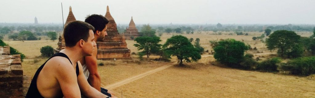 Welttournee der Reisepodcast - travel podcast in Myanmar